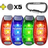 Sturme LED Safety Light Strobe lights (Blue Green Redx2)
