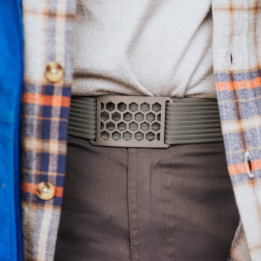 Mens Web Belt GRIP6 Belt Buckle