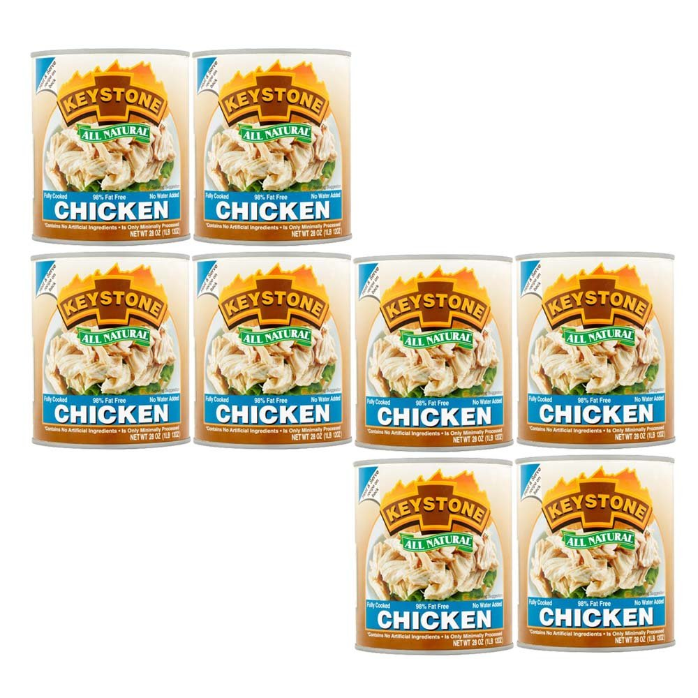 Keystone All Natural Chicken 28 Oz (PACK OF 8)