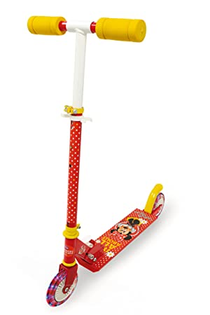 Smoby Patinete 2 Ruedas c/Luces Minnie: Amazon.es: Juguetes ...