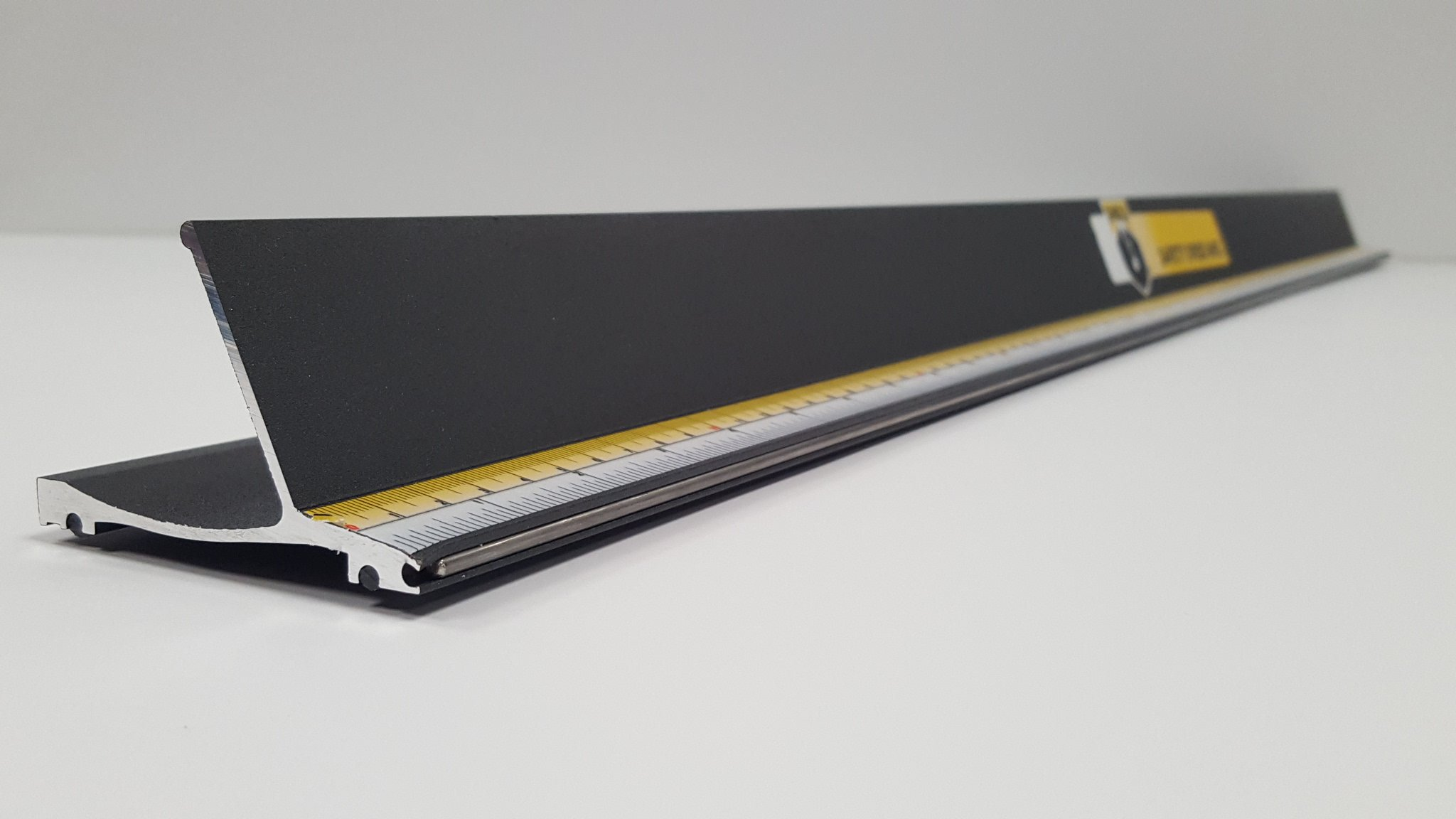 Shield Safety Straight Edge Ruler 60'' by Safety Speed Manufacturing (Image #2)