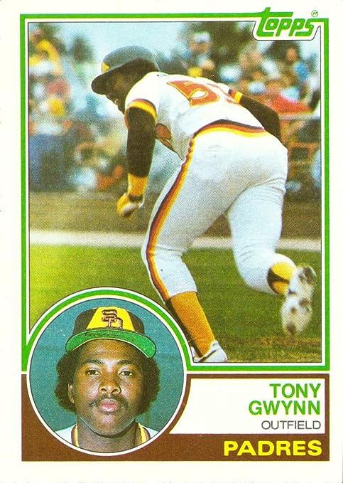 1983 Topps Baseball 482 Tony Gwynn Rookie Card