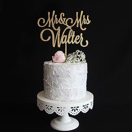 Cake Topper Tortendekoration mit Vornamen zur Taufe Kommunion aus Acryl
