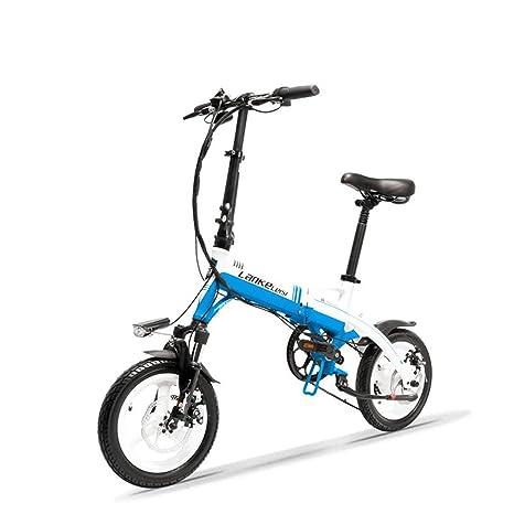 Bicicletta Pieghevole Portatile.Lankeleisi A6 Mini Bicicletta Pieghevole Portatile E Bicicletta Elettrica Da 14 Pollici Motore 36v 350w Cerchio In Lega Di Magnesio Forcella Di
