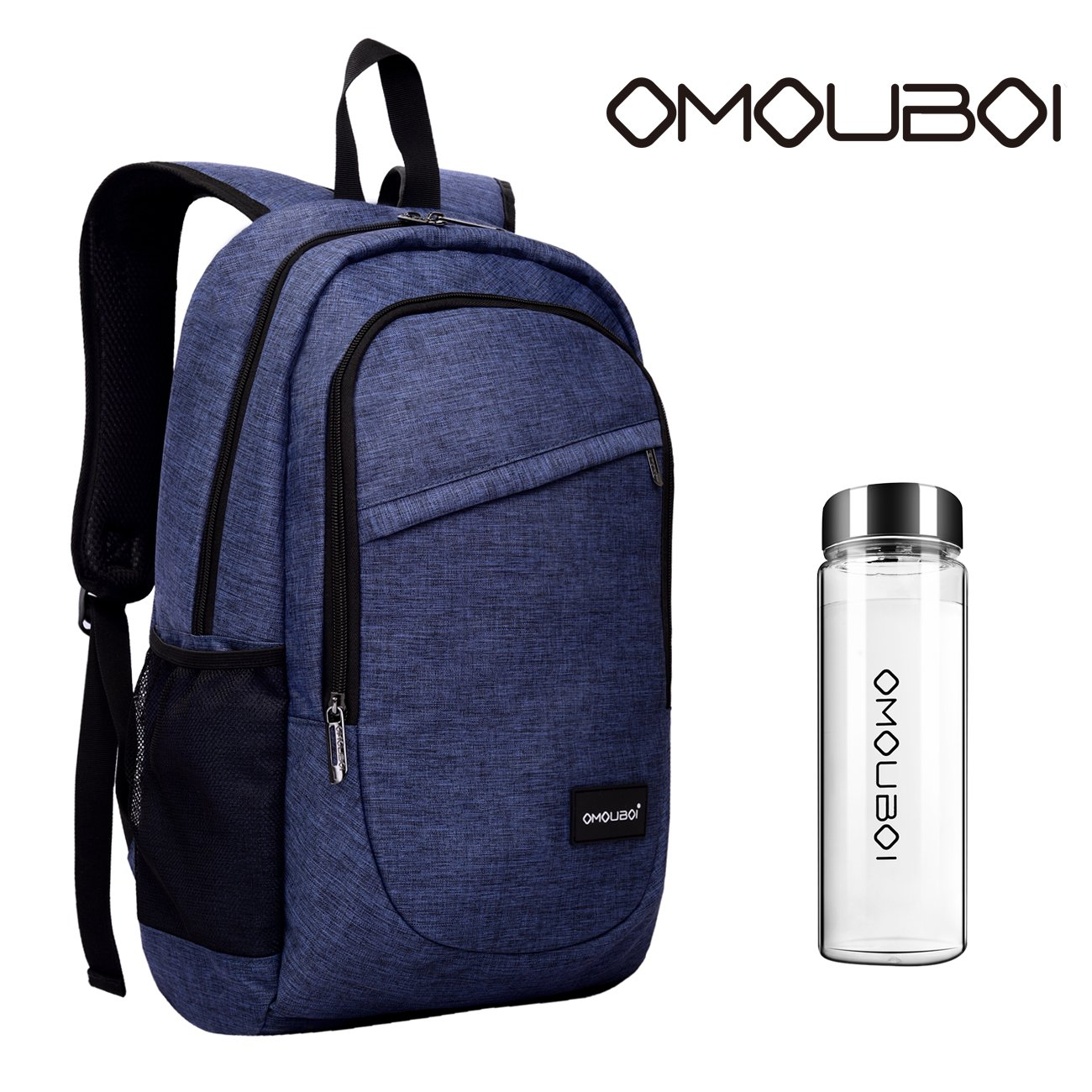Laptop Backpack OMOUBOI Travel Computer Backpack Anti Theft Water Resistant