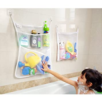 Bad aufbewahrung, Bad Spielzeug Organizer Set(2 Stück), Badezimmer ...