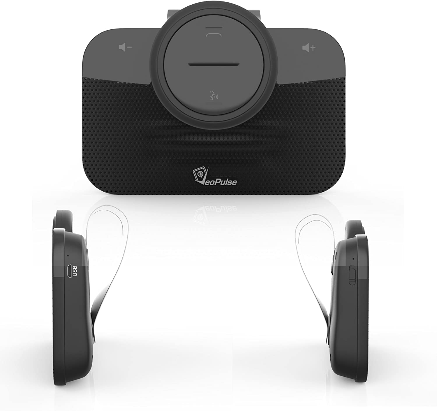 VeoPulse Car Speakerphone B-PRO 2B Hands-Free kit with Bluetooth Automatic Cellphone Connection
