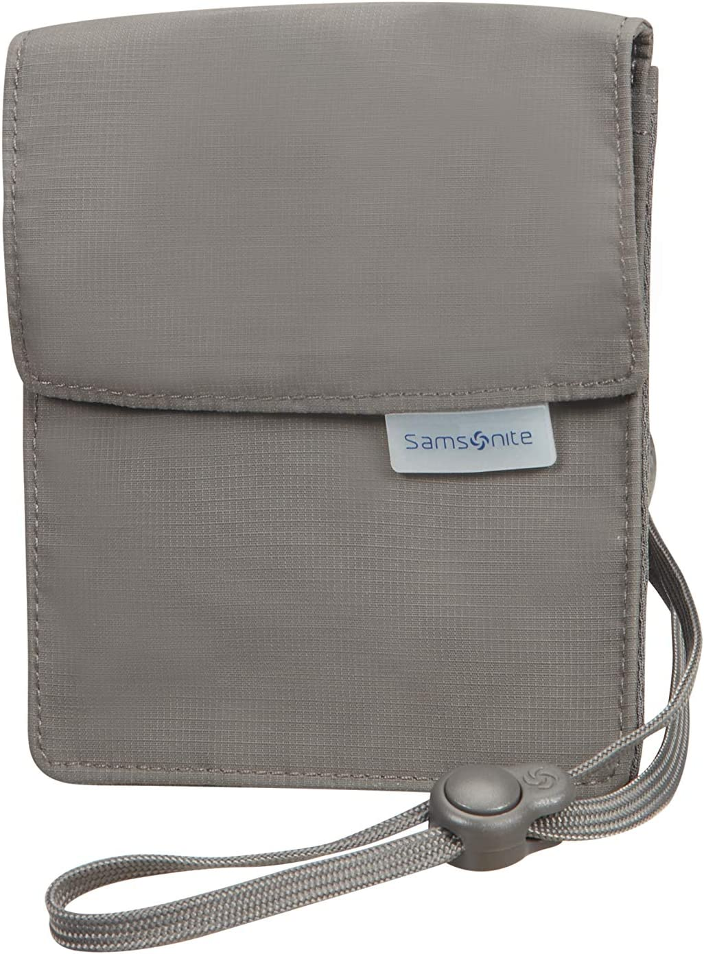 Beige Samsonite Global Travel Accessories Pochette Tour de Cou RFID 14 cm