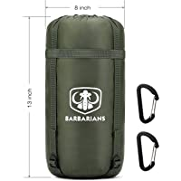 Barbarians Single Outdoor Camping Hammock with Full Length Ultra-Light Under Quilt Blanket