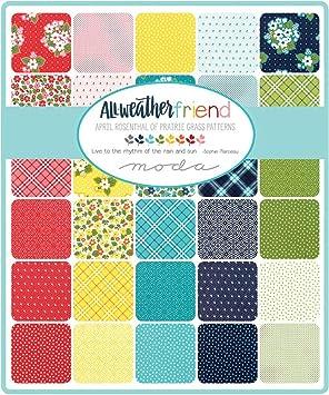Comme neuf ou en parfait état-216 Sarah /& Sally baumwollschal patchworklook rayé multicolore