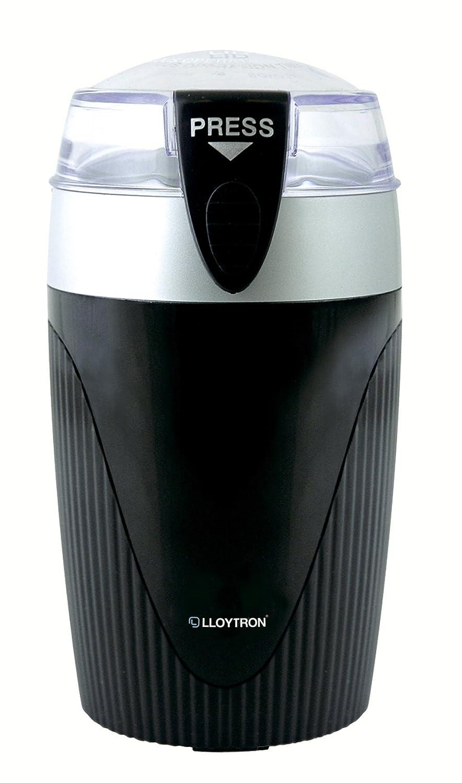 120W Spice/Coffee Grinder - Black/Silver Lloytron E825BK