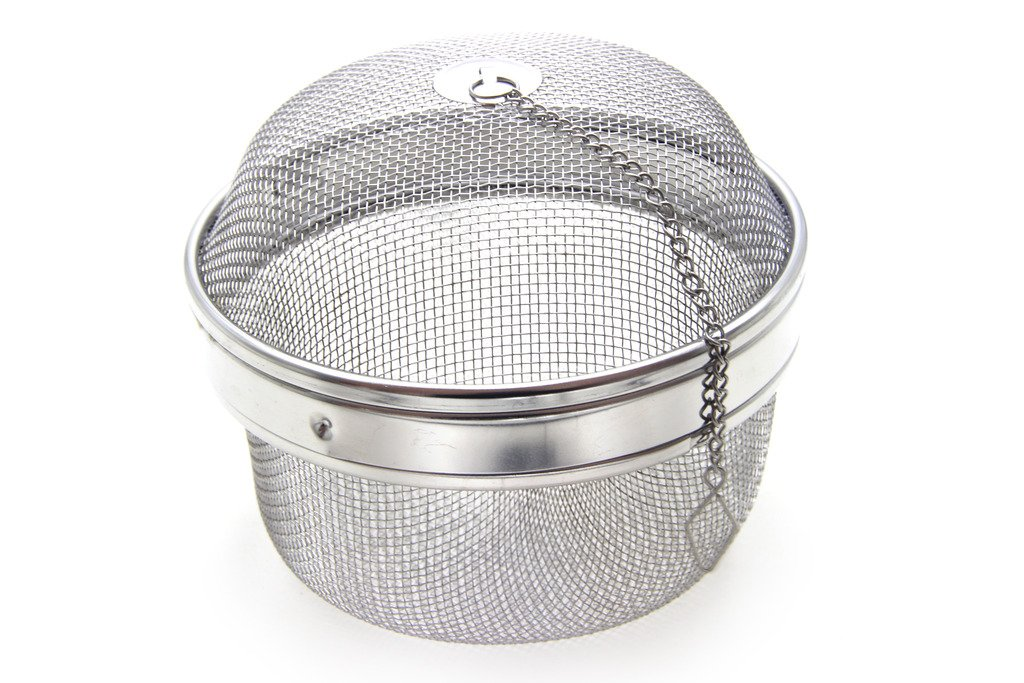 Time Roaming 5.1''D Stainless Steel Mesh Spice Ball Tea Ball Herb Infuser