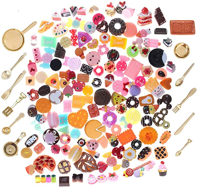 9Pcs//Set Love Cake Miniature Food Models Dollhouse Accessories fashio  TuW EW