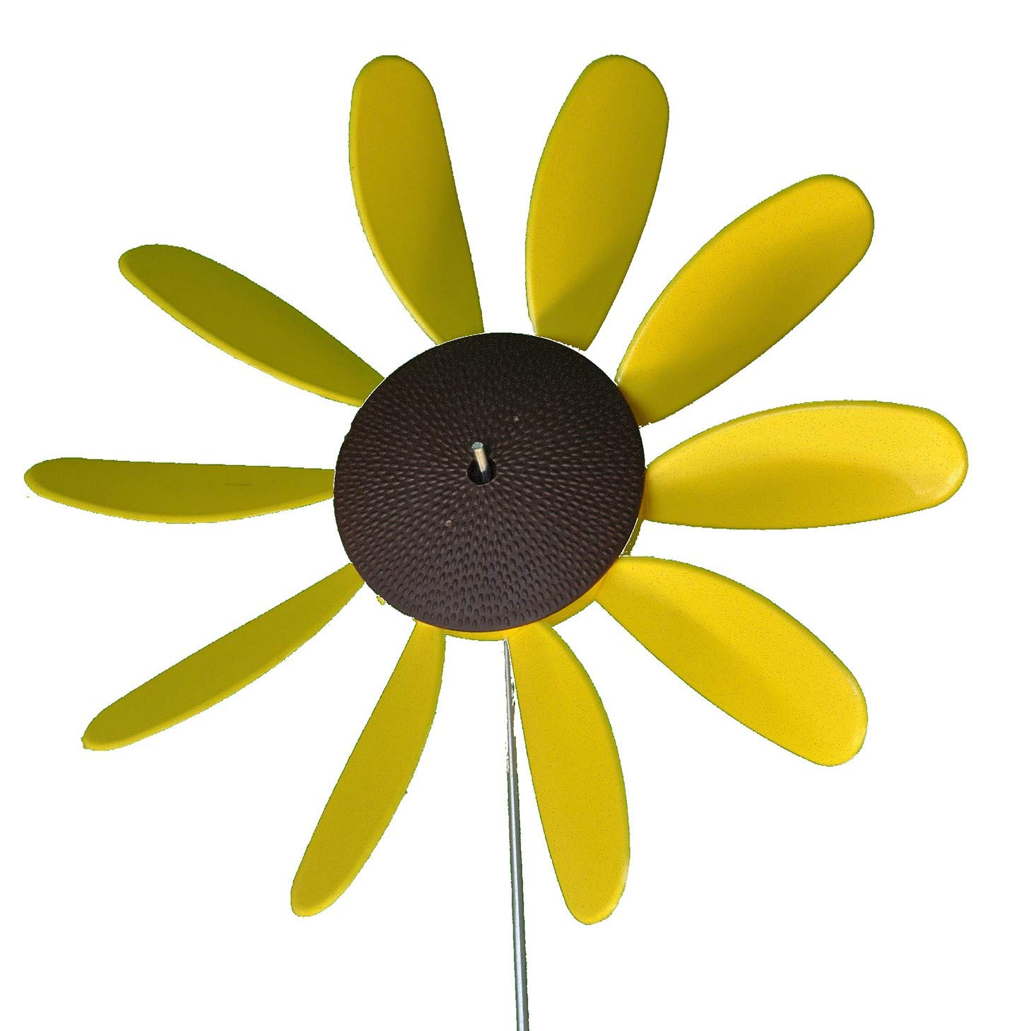 Beloit Plastics, LLC Classic Spinning Daisy (x6 case) SUNFLOWER, 12 inch dia by Beloit Plastics, LLC