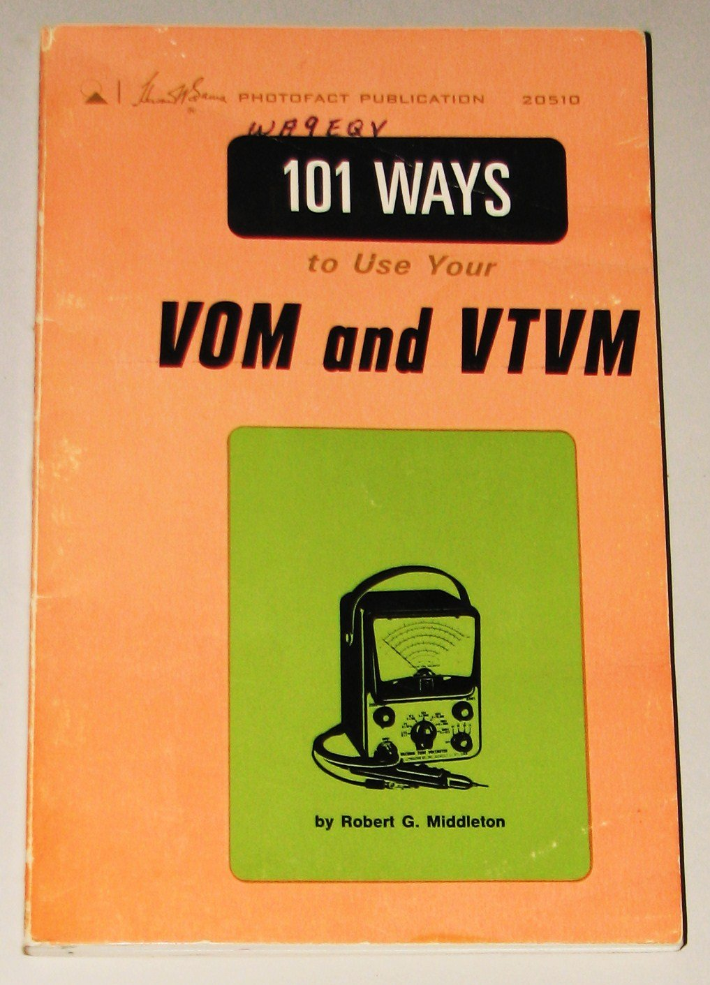 101 Ways to Use Your VOM and Vtvm: Robert G. Middleton: Amazon.com: Books
