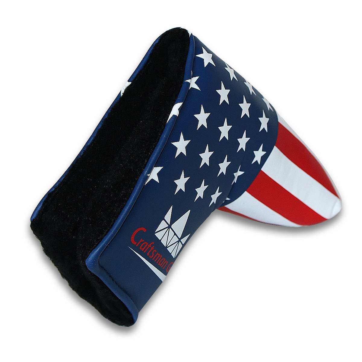 3fe7151d7e95 Craftsman Golf USA FLAG Patriotic Theme Golf Putter Cover Headcover Club  Protector For Scotty Cameron Taylormade Odyssey Blade