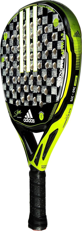 Amazon.com : adidas Adipower Attack 1.9 Neon Yellow/Black/Silver Advanced-Professional Padel Racket : Sports & Outdoors