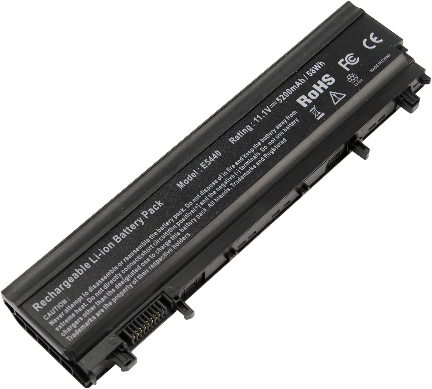 AC Doctor INC Laptop Battery for Dell Latitude 14 15 5000 E5440 E5540 Series M7T5F VV0NF FT6D9 3K7J7 5200mAh 11.1V Replacement
