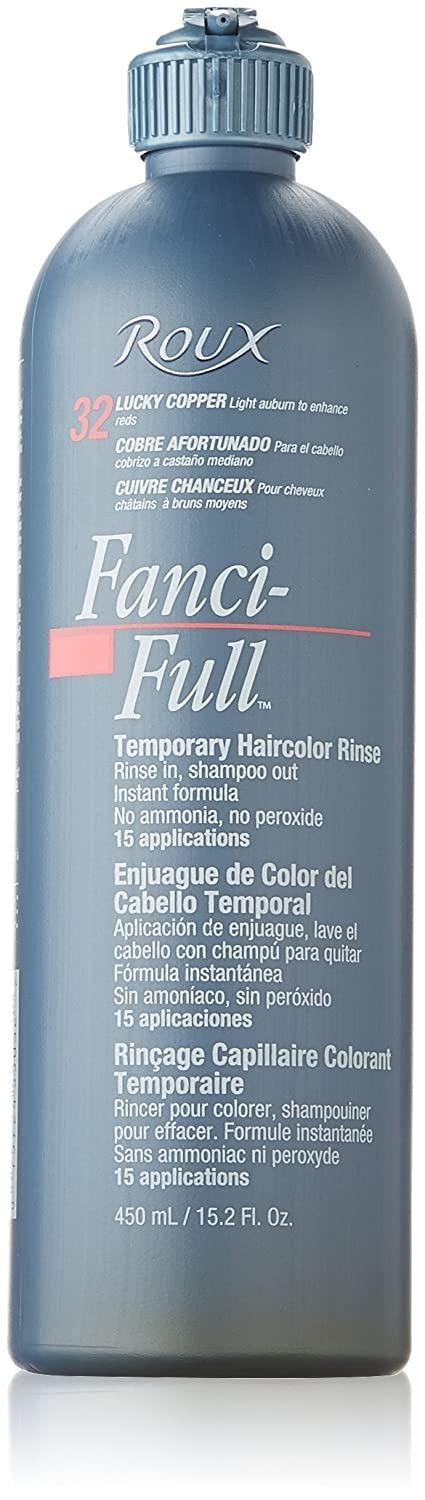ROUX Fanci-Full Rinse 075724550322 Lucky Copper 15-Ounce 1 Count