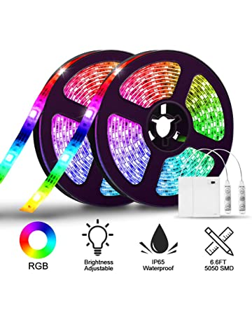 Led Christmas Lights Rxment Rgb Led Strip Lights With Remote 10m