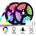 2 Piece Solmore 6.6FT/2M RGB LED Light Strip Kit
