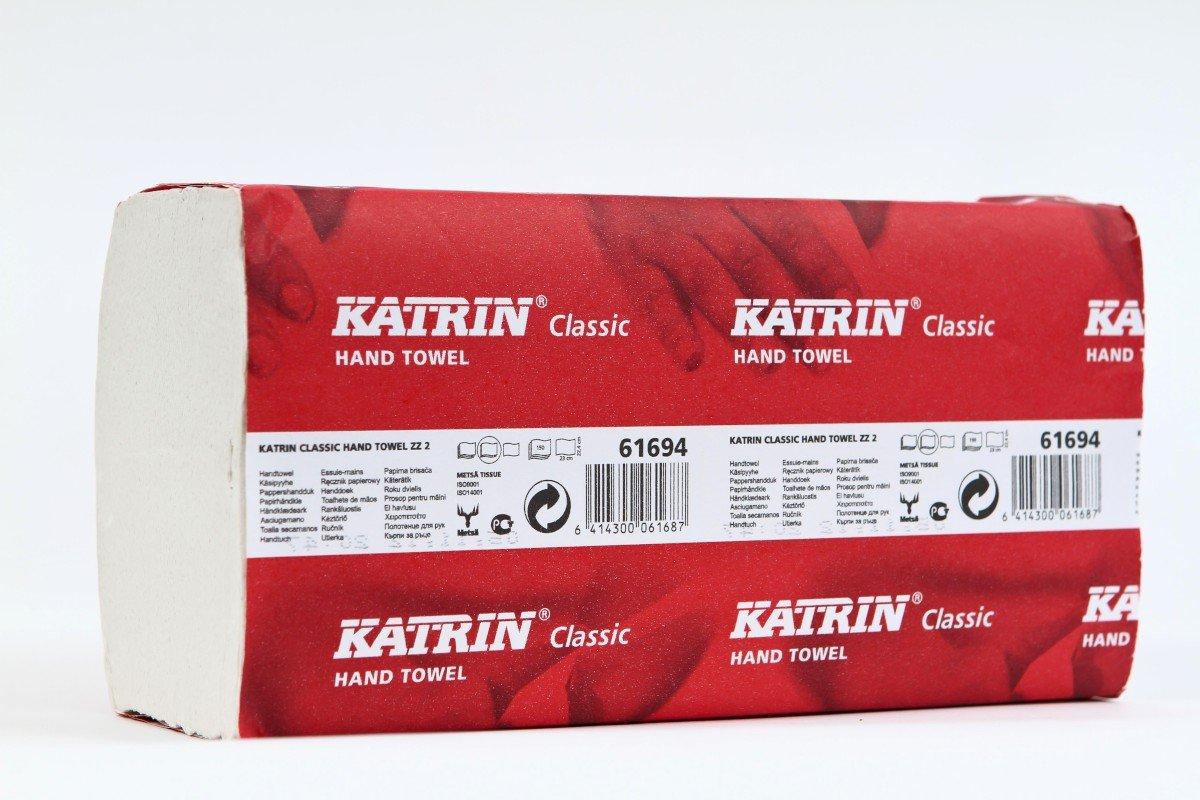 KATRIN CLASSIC ZIG ZAG HAND TOWEL 2 PLY 61694