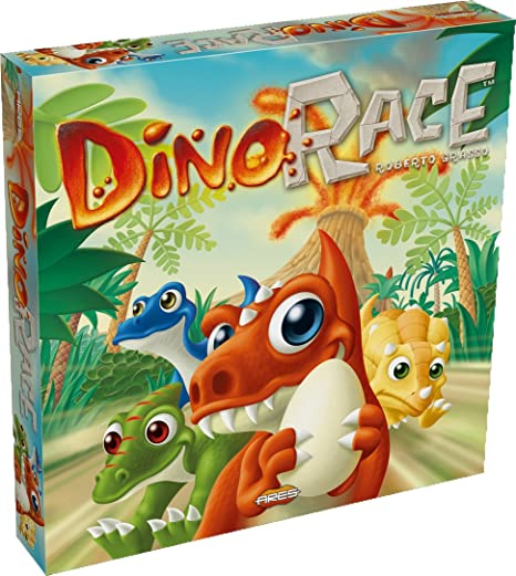 Ares Juegos ARFG002 - Dino Race: Amazon.es: Juguetes y juegos