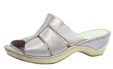 CAPRICE Ladies Pantolette 9-27201-521 Rose Metallic, Damen Größen 40.5  eef1b1e3e2