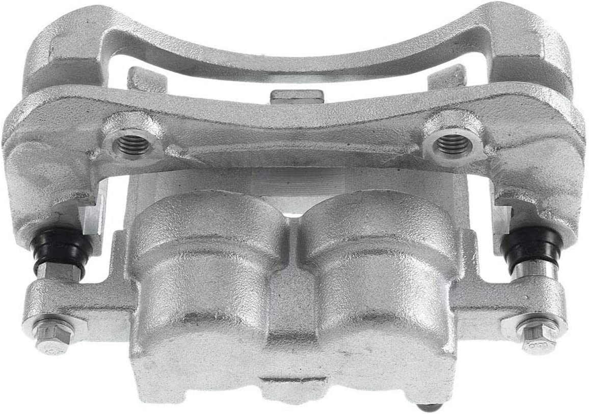 A-Premium Brake Caliper with Braket Compatible with Chevrolet Colorado GMC Canyon 2004-2008 Isuzu i-280 i-350 2006 i-290 i-370 G6 2005 Front Side 2-PC Set