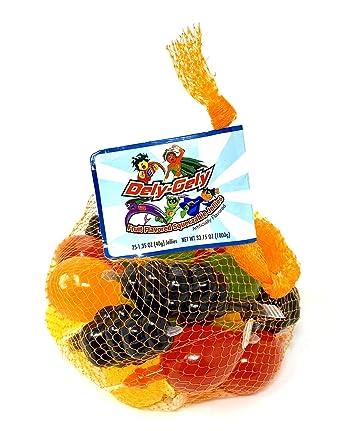 Dely Gely Fruit Jelly Gelatina De Frutas 25 Pieces 1 Pack