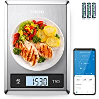 RENPHO Digital Food Scale, Kitchen Scale for Baking, Cooking and Coffee with Nutritional Calculator for Keto, Macro…