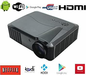 3D Proyector WiFi 1080P Full HD Video Proyector LED Proyector ...