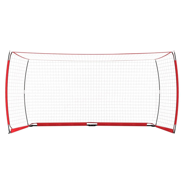 Corgy Portable Soccer Football Goal Net with Carry Bag Portable Bow Style Net(US STOCK)