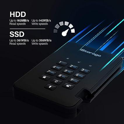 Istorage Diskashur2 Ssd 512gb Verschlüsseltes Externes Computer Zubehör