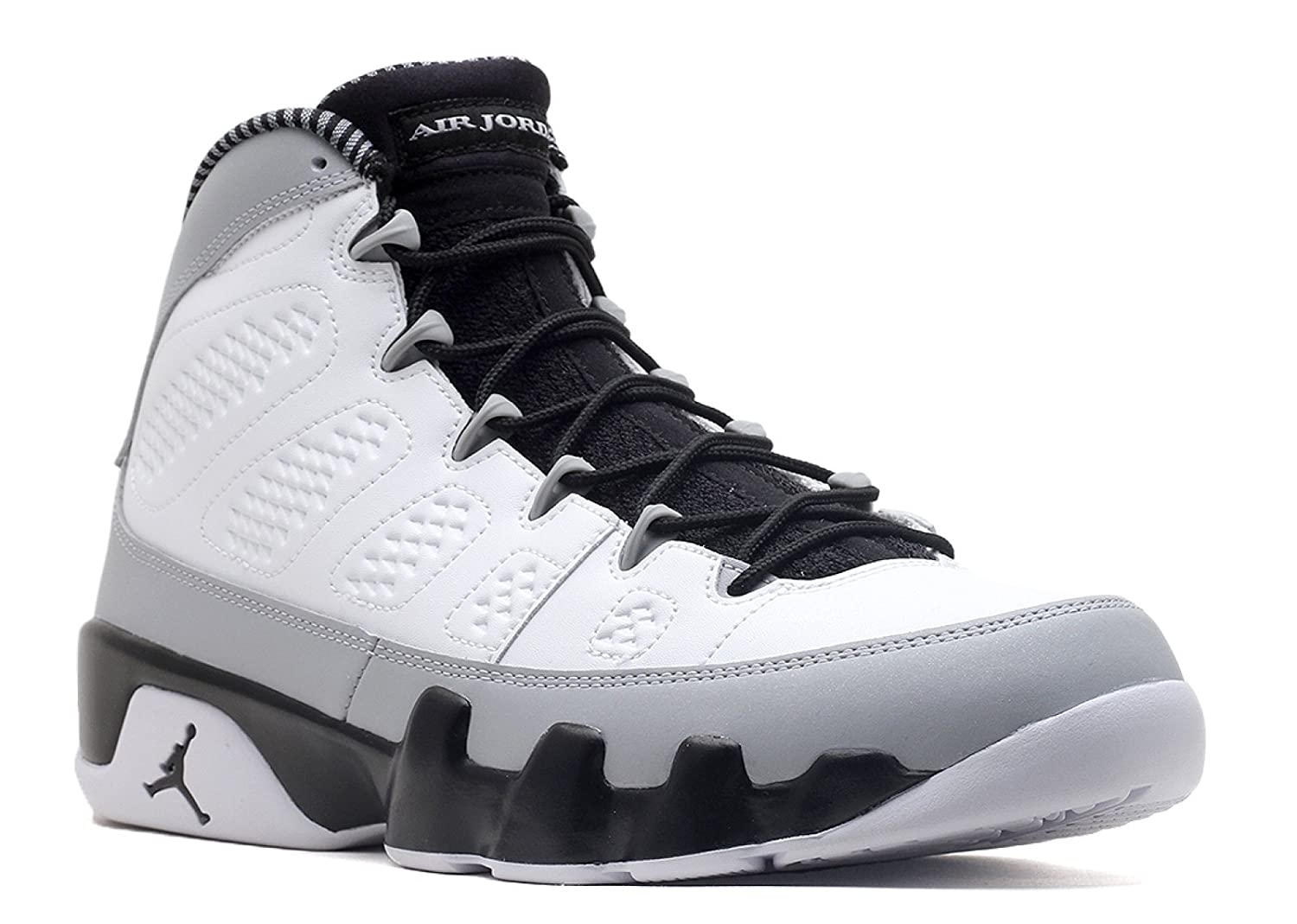 finest selection 1e5d0 b8b61 Jordan Air 9 Retro Birmingham Barons Men's Basketball Shoes  White/Black-Wolf Grey 302370-106