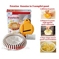 Euronovità Patafacile, Tool for Making Chips Chips Without Oils or Fat in Microwave