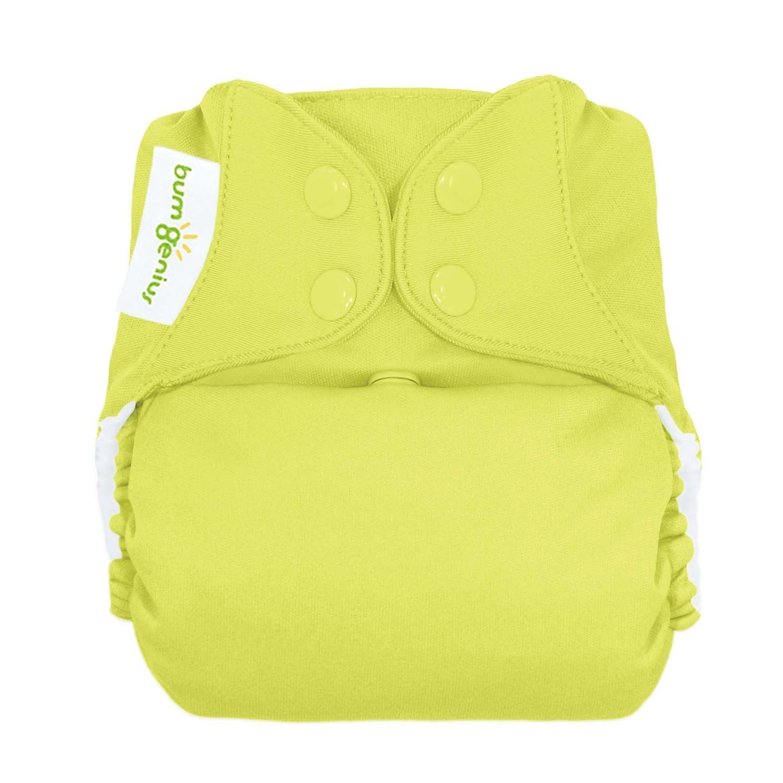 Hemp Organic Cotton Fleece Diaper Inserts Soakers 5 X 13 Turquoise Yellow