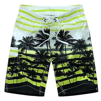 28d1071292 Été Couleur Unie Shorts de Plage Nouveaux Hommes Surf Vitesse Multicolore  XL Paire Jogging Hommes Shorts