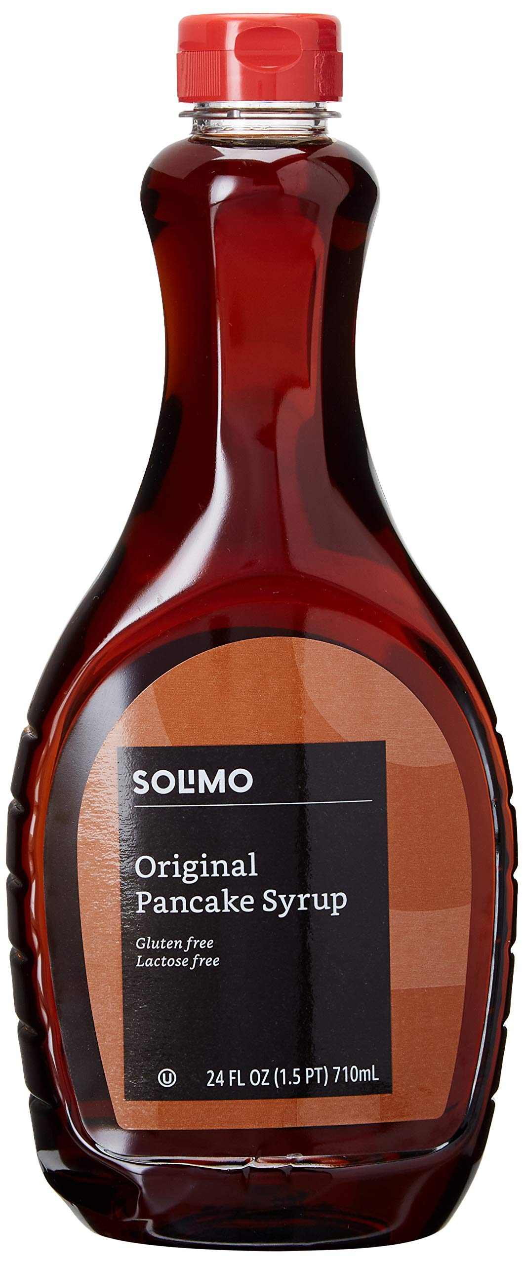 Amazon Brand - Solimo Pancake Syrup, Original Flavor, 24 ounces