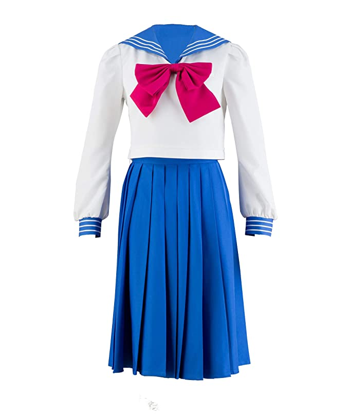 Old Fashioned Dresses | Old Dress Styles Womens Sailor Moon Tsukino Usagi Mercury Cosplay Costume 4 Pcs Set $55.00 AT vintagedancer.com