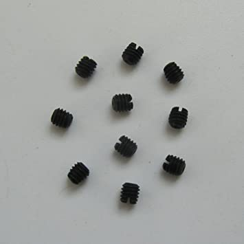 KUNPENG - 10 piezas TORNILLO DE AGUJA 1 / 8-44 L-3.0MM 4 CADA UN # 3637 para YAMATO DCZ361 CERRADURA INDUSTRIAL para YAMATO AZ8000: Amazon.es: Hogar