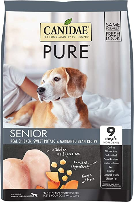 Top 9 Canidae Grain Free Pure Senior Dog Food
