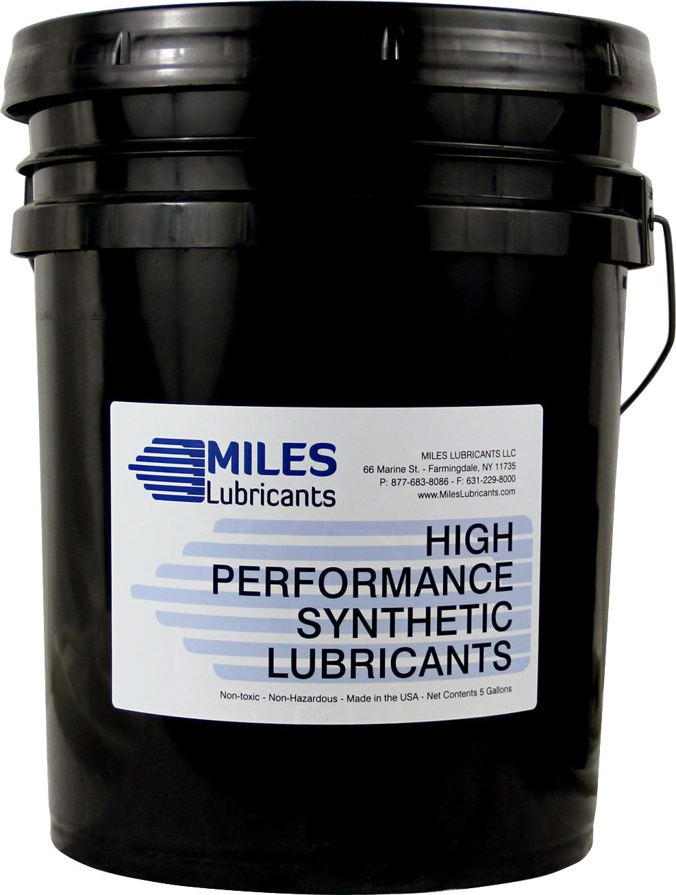 Food Grade Compressor Cleaner & Lubricant Iso 68, 5 Gallon, Pail