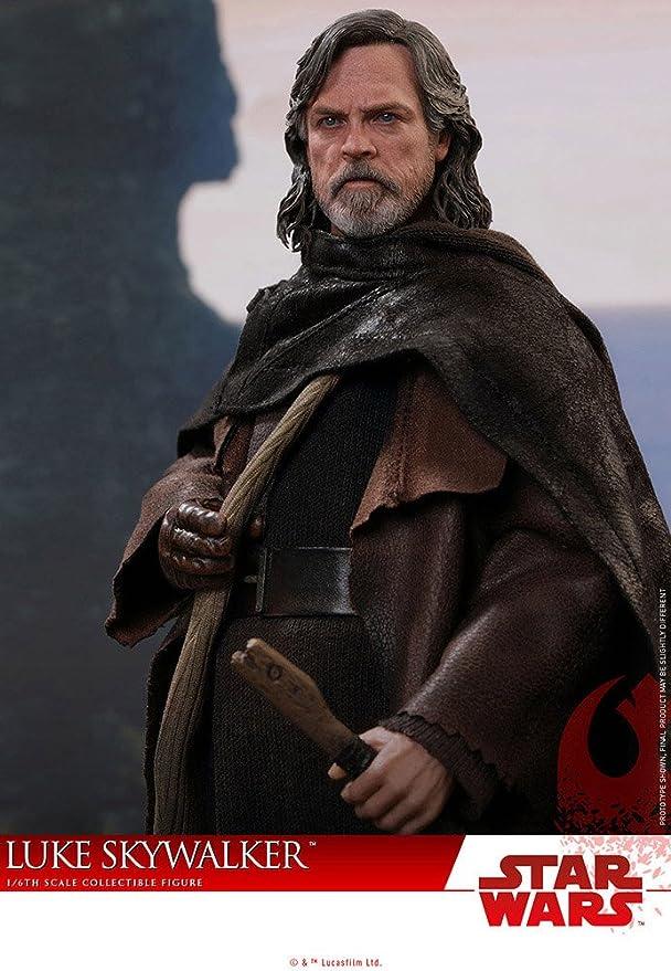 Hot Toys Star Wars Episode VIII Movie Masterpiece Action Figure 1//6 Luke Skywalker Deluxe