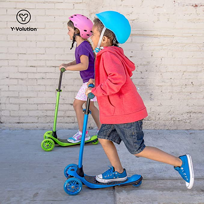 Amazon.com: Yvolution Y Glider XL | Patinete de 3 ruedas ...