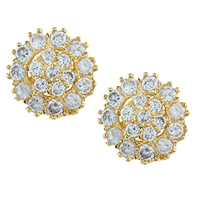 b6f808755 Efulgenz Indian Bollywood Designer Gold Plated Traditional Stud Earrings  Jewelry for Women and Girls: Amazon.ca: Jewelry