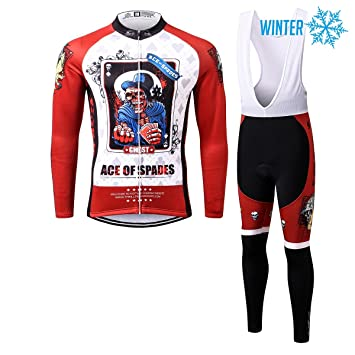 Thriller Rider Sports® Hombre Ace of Spades Ciclismo Invierno ...