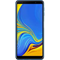 "Samsung Galaxy A7 (2018) Smartphone, Blu (Blue), Display 6.0"", 64 GB Espandibili, Dual Sim [Versione Italiana]"