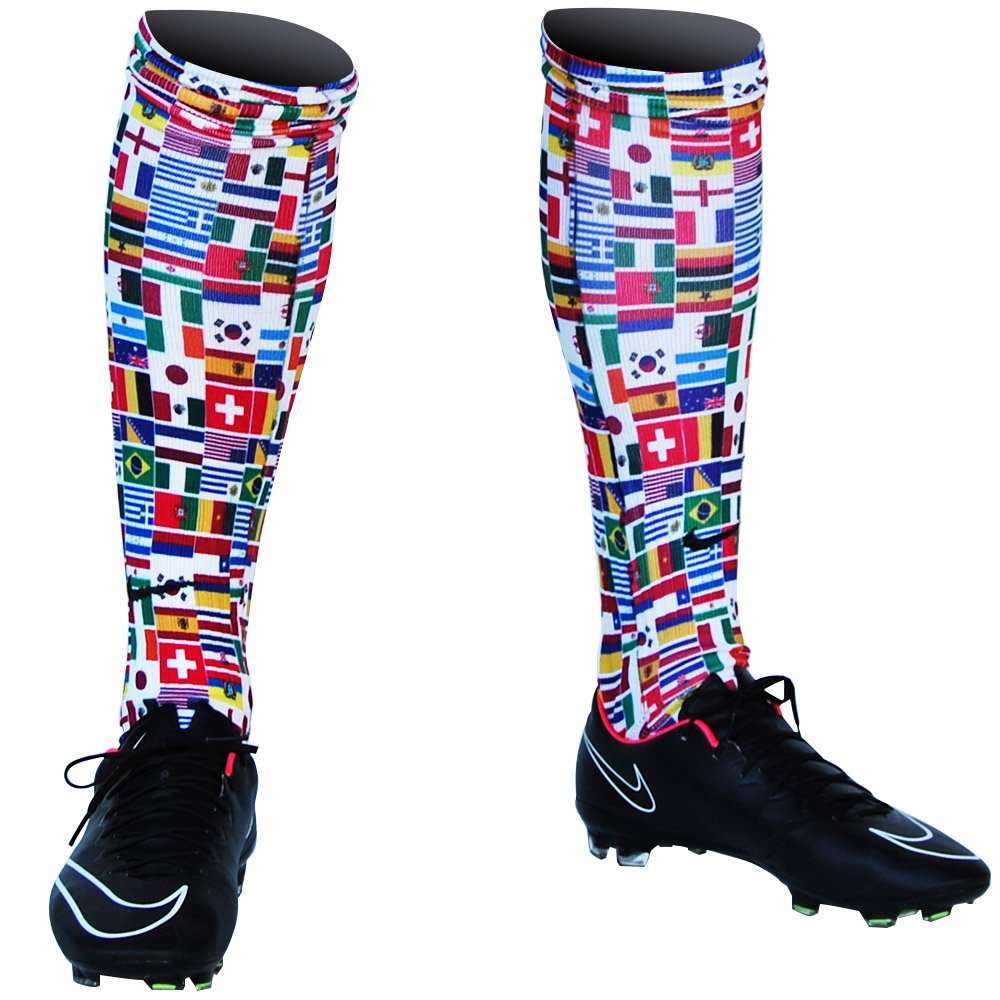 Ultras World Cup Flags Soccer Socks