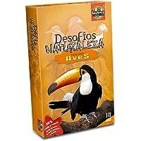 Asmodee- Juego de Cartas Desafíos Naturaleza Aves (311)